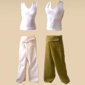ropa para hacer yoga