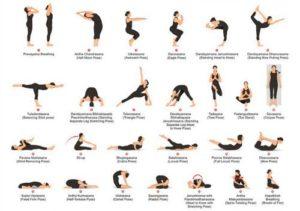 asanas de yoga y sus nombres